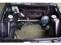 1986 / C Reg Ford Escort MK4 XR3I Rolling Shell
