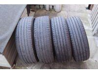225/60R18 100H Tyres - Set of 4 Bridgestone Dueler H/L 33 - Tubeless Radial Tyres