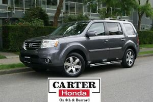 2015 Honda Pilot Touring + RUNNING BOARDS + CERTIFIED 6YR!
