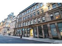 2 bedroom furnished Apartment with George Square Window View