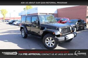 2013 Jeep WRANGLER UNLIMITED Sahara, LEATHER, HEATED SEATS, BLUE