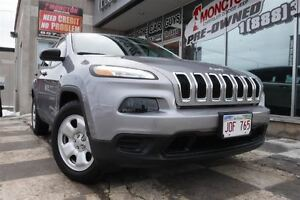 2016 Jeep Cherokee Sport | Heated Seats | 4x4