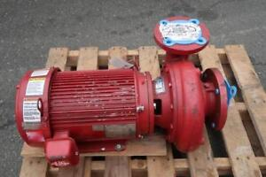 BELL & GOSSETT Suction Pump with Motor