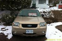 2007 Ford Escape Limited Edition $300 (AS IS)
