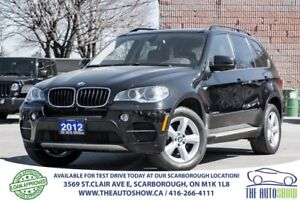 2012 BMW X5 35i NAVI RearViewCam PanoRoof RunningBoards