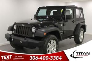 2014 Jeep Wrangler 6 Spd Manual| 18818 Kms| PST Paid