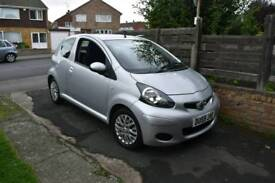 Toyota aygo 1.0 59 plate only 9000 miles from new