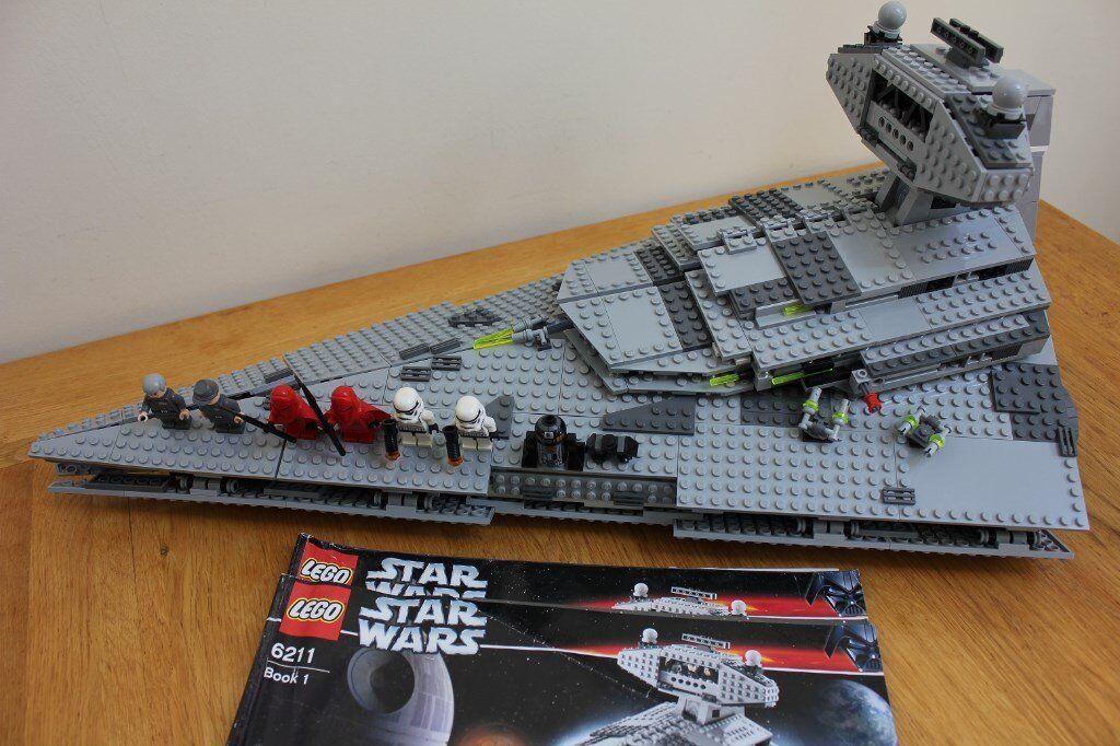 Lego Star Wars 6211 Star Destoyer Including Minifigures