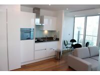 Luxury Studio Suite in Baltimore Tower (Arena Tower), E14, Canary Wharf, 15th Floor- VZ