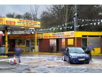 Hand Car Wash Valeting Business For Sale - Large Petrol Station - Main Road - Best in Manchester