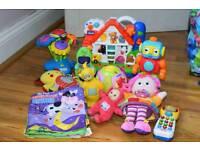 Childrens toy bundle Teletubbies Lamaze Vtech Chicco