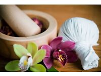 Thai massage Full body massage Relaxing Massage by Thai girls.