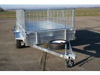 Trailer 8 x 5 With Utility Cage