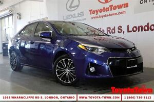 2014 Toyota Corolla LOADED S TECH PACKAGE LEATHER & NAVIGATION