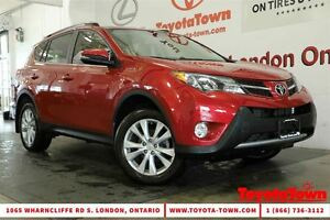 2015 Toyota RAV4 LOADED LIMITED LEATHER NAVIGATION