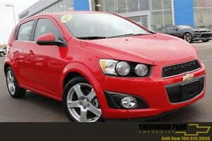 2016 Chevrolet Sonic LT Turbo| Sun| Heat Seat| Rem Start| 17 All
