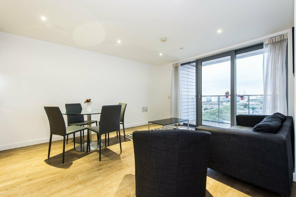 VACANT! - LUXURY 2 BED 2 BATH IN MORO APARTMENTS / CANARY WHARF E14 - BALCONY, CONCIERGE 11th FLOOR