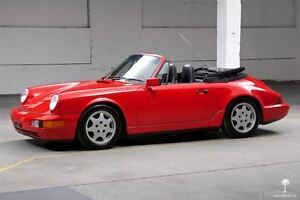 1990 Porsche 911 Carrera 4 Cabriolet (964) - All Original / 2 Ow