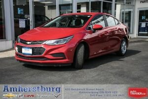 2017 Chevrolet Cruze LT - REMOTE START! HEATED FRONT SEATS!