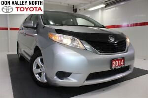 2014 Toyota Sienna LE 7-PASS Btooth BU Camera Cruise