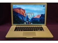 "17"" CORE i5 Apple MacBook Pro 2.53Ghz 4GB 750GB LOGIC PRO X CUBASE REASON NATIVE INSTRUMENTS SERATO"