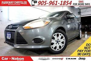2013 Ford Focus SE| HEATED SEATS| BLUETOOTH| FORD SYNC|