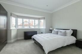 Kingsize bed frame and bedside tables