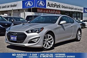 2015 Hyundai Genesis Coupe 3.8|REDUCED|ONLY 13, 500KM