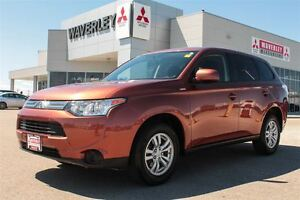 2014 Mitsubishi Outlander ES/HEATEDSEATS/BLUETOOTH