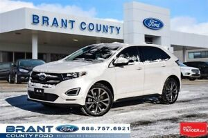2016 Ford Edge Sport - LEATHER, ROOF, NAV, LOADED!