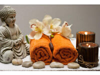 Relaxing body massage by Amira