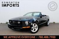 2007 Ford MUSTANG CONVERTIBLE   AUTO   CERTIFIED   WE APPROVE EV