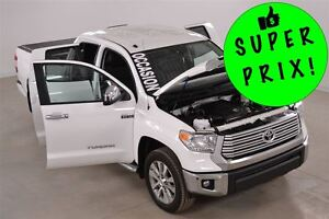 2016 Toyota Tundra Limited 4x4 5.7L DblCab GPS+Cuir+Camera de Re