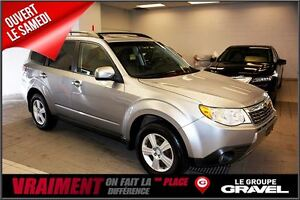 2009 Subaru Forester 2.5 X  TOIT OUVRANT 8 ROUES