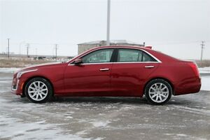 2015 Cadillac CTS Luxury*HAIL DAMAGE ($4000)*     FINANCING AS L Moose Jaw Regina Area image 3