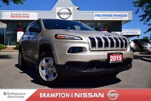 2015 Jeep Cherokee Sport *Bluetooth,Rear View Monitor,4X4*