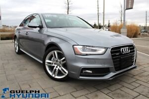 2015 Audi A4 2.0T S LINE-LEATHER,NAV,SUNROOF & MORE!
