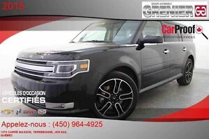 2015 Ford FLEX Limited AWD *7 PASSAGERS + CUIR + GPS + ÉCRAN TAC