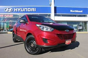 2014 Hyundai Tucson GL/DVD Head Rests/Bluetooth/Heated Seats/Win