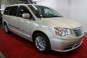 2016 Chrysler Town & Country TOURING * CUIR, MAGS, A/C TROIS ZON