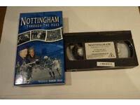 Historic Nottingham on VHS video + Proposed Nottighamshire Logo lapel Pin