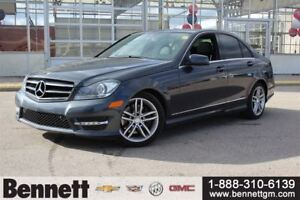 2014 Mercedes-Benz C-Class C300 4MATIC with Sunroof