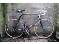 RALEIGH MERCURY. 23.5 Inch, 59 cm. Vintage racer racing road bike, 12 speed