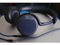B&O H2 Carbon Blue Headphones