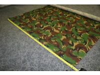 Rip Stop DPM Woodland Camouflage Material Fabric