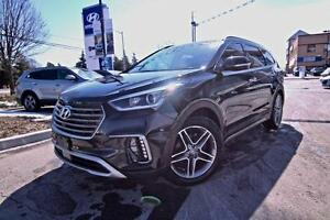 2017 Hyundai Santa Fe XL ULTIMATE - LEATHER, NAVIGATION, BLIND S