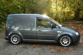 Modified 2009 VW Caddy 1.9 TDI (2 owners) new clutch and dmf.lowered etc