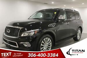 2016 Infiniti QX80 Auto|Fully Loaded|7 Pass|13592 Kms!!