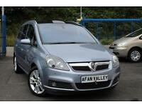 VAUXHALL ZAFIRA 1.9 CDTi Design [150] [Euro 4] **1 LADY OWNER+FULL S/HISTORY** (silver) 2007