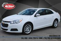 2014 Chevrolet Malibu LT - Sunroof, Pwr Seat, Rmt Start, Rear Ca